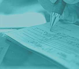 Informações sobre o uso de cheques